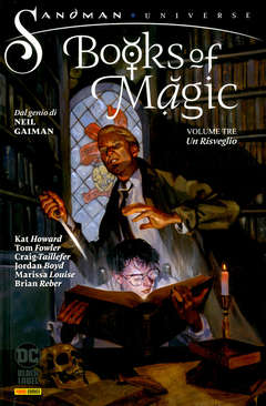 Copertina BOOKS OF MAGIC n.3 - UN RISVEGLIO, PANINI DC