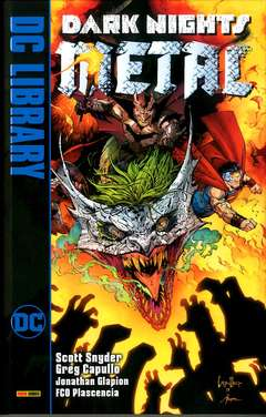 Copertina DARK NIGHTS METAL n. - DARK NIGHTS: METAL, PANINI DC