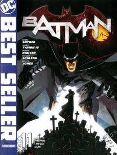 Copertina DC BEST SELLER n.11 - BATMAN DI SCOTT SNYDER E GREG CAPULLO 11, PANINI DC