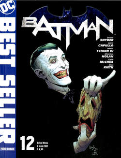 Copertina DC BEST SELLER n.12 - BATMAN DI SCOTT SNYDER E GREG CAPULLO 11, PANINI DC