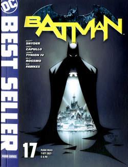 Copertina DC BEST SELLER n.17 - BATMAN DI SCOTT SNYDER & GREG CAPULLO 17, PANINI DC