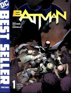 Copertina DC BEST SELLER n.1 - BATMAN DI SCOTT SNYDER & GREG CAPULLO 1, PANINI DC