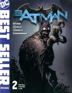 Copertina DC BEST SELLER n.2 - BATMAN DI SCOTT SNYDER & GREG CAPULLO 2, PANINI DC