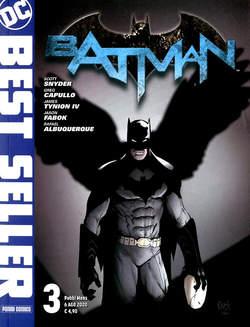 Copertina DC BEST SELLER n.3 - BATMAN DI SCOTT SNYDER & GREG CAPULLO 3, PANINI DC