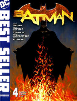 Copertina DC BEST SELLER n.4 - BATMAN DI SCOTT SNYDER & GREG CAPULLO 4, PANINI DC