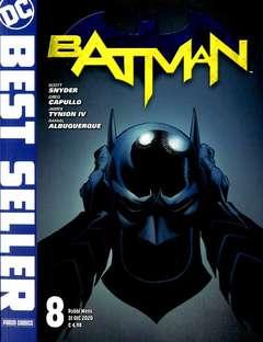 Copertina DC BEST SELLER n.8 - BATMAN DI SCOTT SNYDER E GREG CAPULLO, PANINI DC