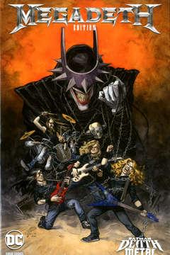 Copertina DC CROSSOVER #07 Variant n.1 - MEGADETH Variant Band Edition (Juanjo Guarnido), PANINI DC