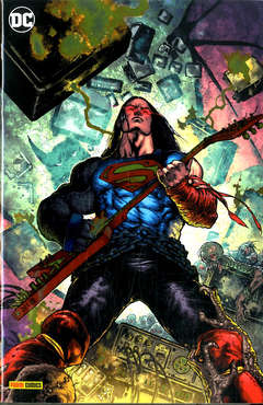 Copertina DC CROSSOVER #09 Variant n.2 - Variant Metal, PANINI DC