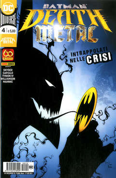 Copertina DC CROSSOVER n.10 - BATMAN: DEATH METAL 4, PANINI DC
