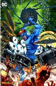 Copertina DC CROSSOVER #10 Variant n.2 - Variant Metal, PANINI DC