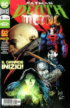 Copertina DC CROSSOVER n.11 - BATMAN: DEATH METAL 5, PANINI DC