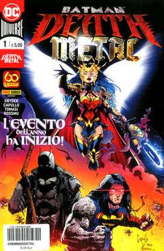 Copertina DC CROSSOVER n.7 - BATMAN: DEATH METAL 1, PANINI DC
