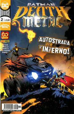 Copertina DC CROSSOVER n.8 - BATMAN: DEATH METAL 2, PANINI DC