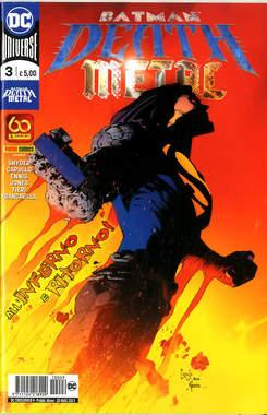 Copertina DC CROSSOVER n.9 - BATMAN: DEATH METAL 3, PANINI DC