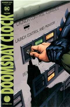 Copertina DOOMSDAY CLOCK n.11 - DOOMSDAY CLOCK, PANINI DC