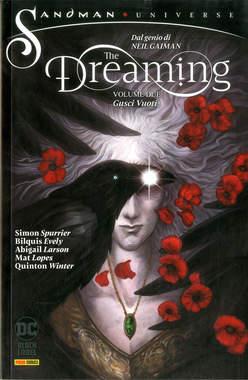 Copertina DREAMING n.2 - GUSCI VUOTI, PANINI DC