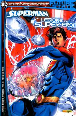Copertina FUTURE STATE n.2 - SUPERMAN/LEGIONE DEI SUPER-EROI, PANINI DC