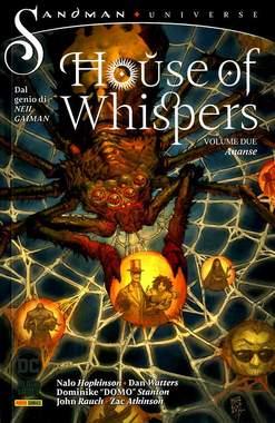 Copertina HOUSE OF WHISPERS n.2 - ANANSE, PANINI DC