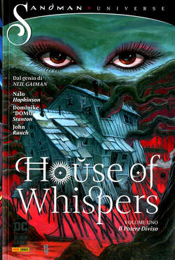 Copertina HOUSE OF WHISPERS n.1 - IL POTERE DIVISO, PANINI DC