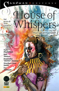Copertina HOUSE OF WHISPERS n.3 - SORVEGLIARE I SORVEGLIANTI, PANINI DC