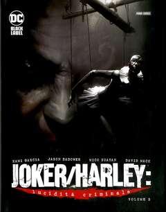 Copertina JOKER/HARLEY LUCIDITA' CRIMINALE n.2 - LUCIDITA' CRIMINALE, PANINI DC