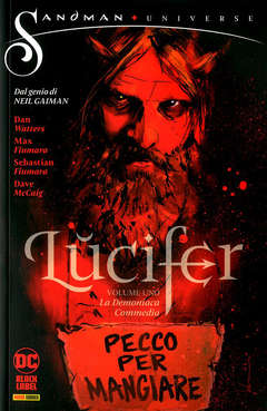 Copertina LUCIFER n.1 - LA DEMONIACA COMMEDIA, PANINI DC