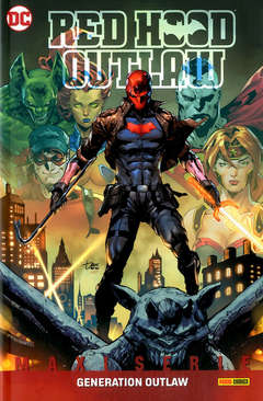 Copertina RED HOOD OUTLAW n.2 - GENERATION OUTLAW, PANINI DC