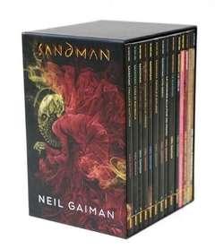 Copertina SANDMAN LIBRARY Ed. Def. Cofan n. - Edizione Definitiva con Cofanetto (14 volumi della Sandman Library), PANINI DC