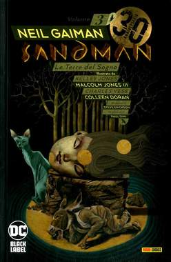 Copertina SANDMAN LIBRARY (m14) n.3 - LE TERRE DEL SOGNO, PANINI DC