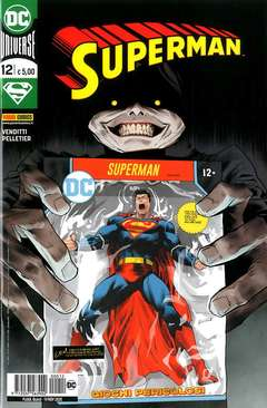 Copertina SUPERMAN n.12 - SUPERMAN, PANINI DC