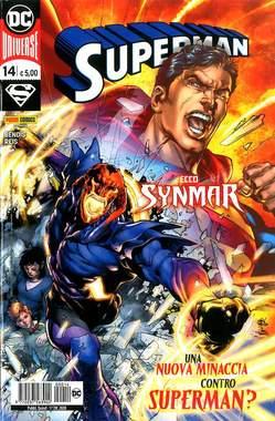 Copertina SUPERMAN n.14 - SUPERMAN, PANINI DC