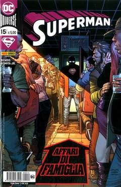 Copertina SUPERMAN n.15 - SUPERMAN, PANINI DC