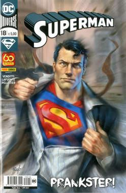 Copertina SUPERMAN n.18 - SUPERMAN, PANINI DC