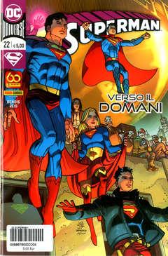 Copertina SUPERMAN n.22 - SUPERMAN, PANINI DC