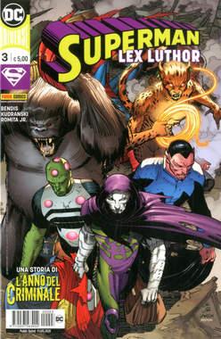 Copertina SUPERMAN n.3 - SUPERMAN, PANINI DC
