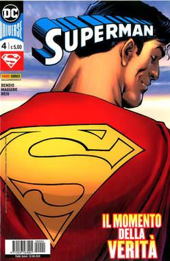 Copertina SUPERMAN n.4 - SUPERMAN, PANINI DC