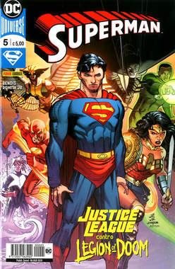 Copertina SUPERMAN n.5 - SUPERMAN, PANINI DC