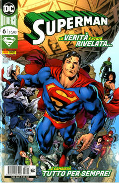 Copertina SUPERMAN n.6 - SUPERMAN, PANINI DC