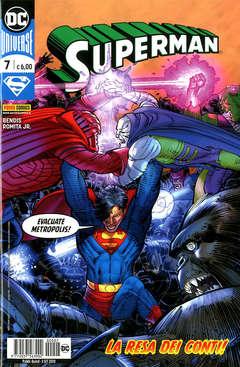 Copertina SUPERMAN n.7 - SUPERMAN, PANINI DC