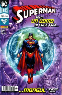 Copertina SUPERMAN n.8 - SUPERMAN, PANINI DC