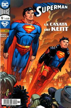 Copertina SUPERMAN n.9 - SUPERMAN, PANINI DC