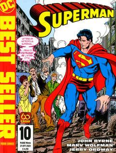 Copertina SUPERMAN DI JOHN BYRNE n.10 - SUPERMAN DI JOHN BYRNE, PANINI DC