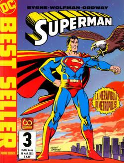Copertina SUPERMAN DI JOHN BYRNE n.3 - SUPERMAN DI JOHN BYRNE, PANINI DC