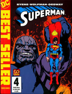 Copertina SUPERMAN DI JOHN BYRNE n.4 - SUPERMAN DI JOHN BYRNE, PANINI DC