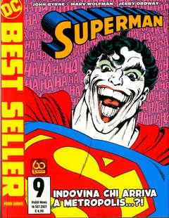 Copertina SUPERMAN DI JOHN BYRNE n.9 - SUPERMAN DI JOHN BYRNE, PANINI DC