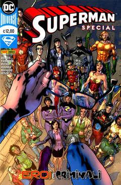Copertina SUPERMAN SPECIAL EROI E ... n. - SUPERMAN SPECIAL EROI E CRIMINALI, PANINI DC
