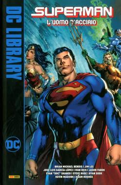 Copertina SUPERMAN L'UOMO D'ACCIAIO n. - L'UOMO D'ACCIAIO, PANINI DC
