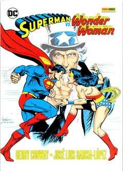 Copertina SUPERMAN VS WONDER WOMAN n. - SUPERMAN VS WONDER WOMAN, PANINI DC