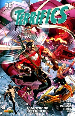 Copertina TERRIFICS n.2 - TOM STRONG E I TERRIFICS, PANINI DC