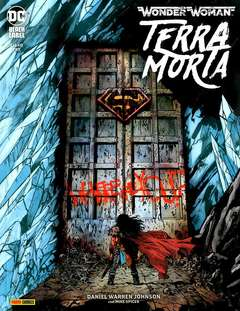 Copertina WONDER WOMAN TERRA MORTA n.3 - TERRA MORTA, PANINI DC